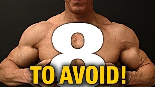 My 8 Biggest Workout & Nutrition Mistakes (DON'T MAKE THEM)