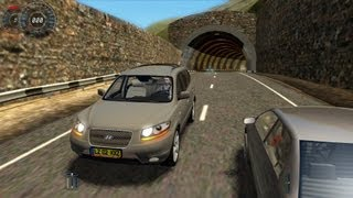 getlinkyoutube.com-City Car Driving Hyundai Santa Fe [1080p]