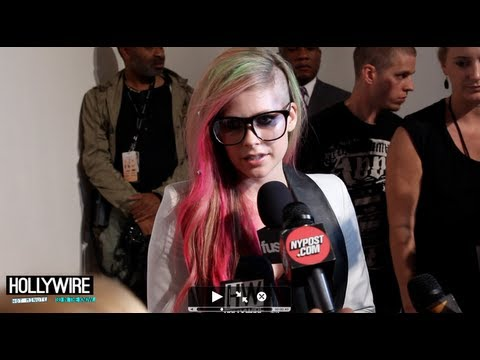 Avril Lavigne Runway Show & Exclusive Interview