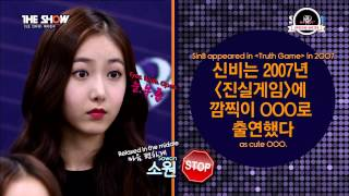 getlinkyoutube.com-[ENG SUB] 150901 The Show 5 Second Interview with GFriend