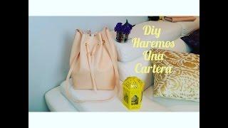 getlinkyoutube.com-DIY cartera( bucket bag)