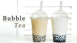 getlinkyoutube.com-How to Make Bubble Tea - Milk Tea & Coconut 버블티 만들기 - 한글자막