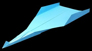 getlinkyoutube.com-How to make the BEST Paper Airplane in the world that FLIES 10000 FEET - EASY | Metaphor