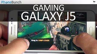 Samsung Galaxy J5 Gaming Review