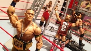 getlinkyoutube.com-GTS WRESTLING: Assault before SUCKASLAM!! WWE Raw parody action figure matches figures animation