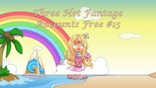getlinkyoutube.com-Three Hot Fantage Accounts Free #15 (2 girls / 1 boy)