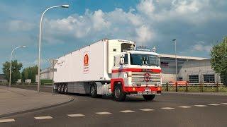 getlinkyoutube.com-Euro Truck Simulator 2 Scania 140-141 V8 sound mod