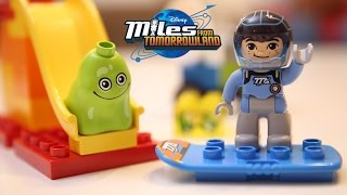getlinkyoutube.com-😄 Disney Junior Leg Duplo - Miles From Tomorrowland - Great Toys