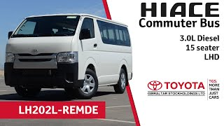 getlinkyoutube.com-Toyota Hiace Commuter Bus 3.0L Diesel - 15 seater - LHD