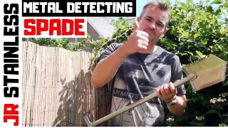 getlinkyoutube.com-Metal Detecting Spade - The S Blade Stainless Steel Digging Spade