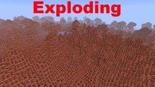 getlinkyoutube.com-HUGE TNT Explosion In Minecraft Pocket Edition!
