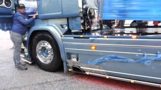 getlinkyoutube.com-Scania r730 v8 Sound Echappement Libre