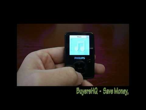 how to turn off shuffle in philips gogear mp3 player