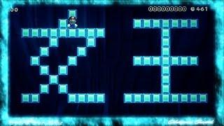 getlinkyoutube.com-【スーパーマリオメーカー】アナと雪の女王 Let It Go 演奏してみた Super Mario Maker - FROZEN
