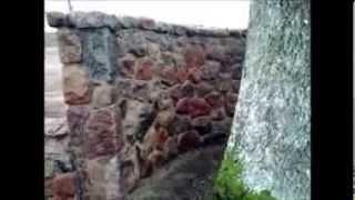 getlinkyoutube.com-Ogrodzenie wykonane z kamienia polnego