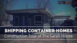 getlinkyoutube.com-Shipping Container Homes Tour - Sarah House Utah