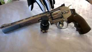 "getlinkyoutube.com-Dan Wesson 8"" Review / Test Co2 6mm BB"