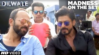 getlinkyoutube.com-Dilwale | Madness on the set | Kajol, Shah Rukh Khan, Kriti Sanon, Varun Dhawan