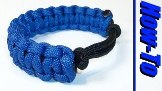 getlinkyoutube.com-Adjustable Paracord Bracelet