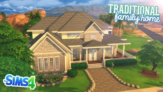 The Sims 4: Speed Build | Traditional Family Home