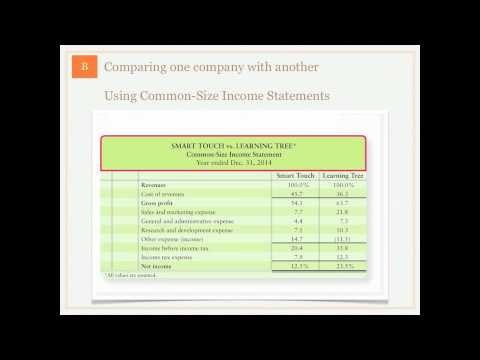 Financial Statement Analysis - Benchmarking