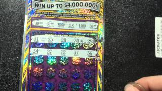 getlinkyoutube.com-New $30 World Class Millions Scratch Off 5/7/15