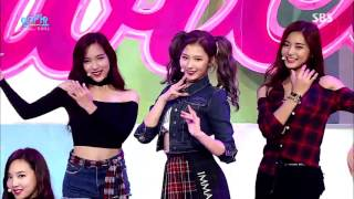 "getlinkyoutube.com-TWICE(트와이스) ""OOH-AHH하게(Like OOH-AHH)"" Stage @ SBS Inkigayo 2015.10.25"
