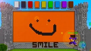 getlinkyoutube.com-DON'T FORGET TO SMILE! Minecraft: DRAW MY THING with Friends!