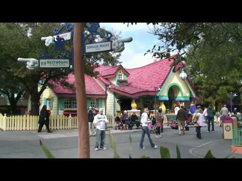 Mickey's Toontown Fair Overview - Magic Kingdom, Walt Disney World