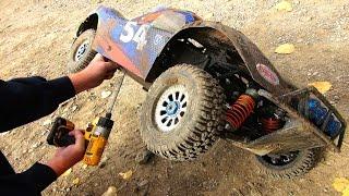 getlinkyoutube.com-RC ADVENTURES - Giant 4x4 Trucks Race & Jump - Highlight Reel - HPI Baja vs Losi 5ive T vs DBXL