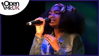 GET HERE - Oleta Adams performed by JASMINE ELCOCK at Open Mic UK Camden Regional Final width=