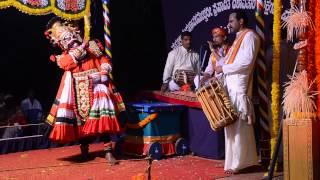 getlinkyoutube.com-Yakshagana Rakthabeeja By Rakesh Rai Padya Patla Sathish Shetty Nodidanu Kali Rakthabeejanu