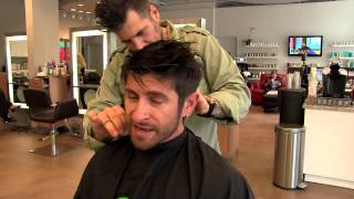 getlinkyoutube.com-Hairstyle Tutorial: Alpha M. Hair Care, Haircut & Hairstyle For Men