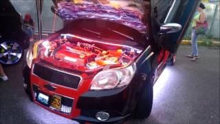 AVEO MODIFICADO TUNING CAR AUDIO BARRANQUILLA  COLOMBIA