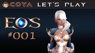 Echo of Soul #001 • Charaktererstellung • Closed Beta Let's Play EoS • Gameplay German Deutsch