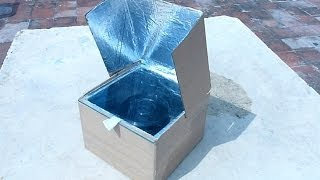 getlinkyoutube.com-How to make a simple solar cooker to understand the use of solar energy