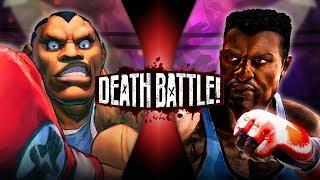 Balrog VS TJ Combo (Street Fighter VS Killer Instinct) | DEATH BATTLE!