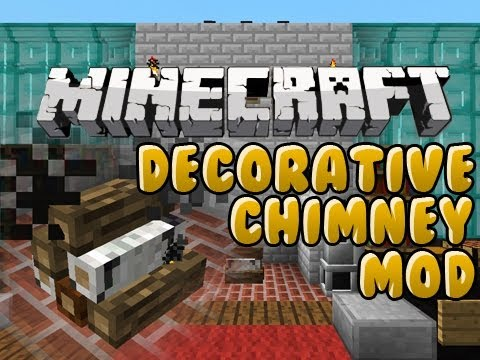 Minecraft: Decorative Chimney Mod