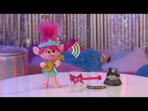 Trolls 2 World Tour Pop To Rock Poppy Singing Doll