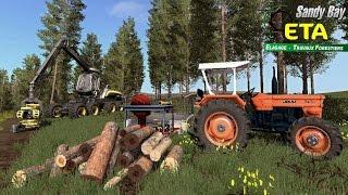 Farming Simulator 17 Travaux Forestier Abattages Scierie mobile
