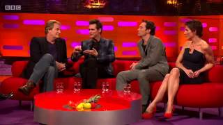 getlinkyoutube.com-The Graham Norton Show S16E11  Jim Carrey, Jude Law, Tamsin Greig and Nicole Scherzinger