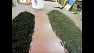 Redworm compost  leaf bedding vs shredded newspaper and junk mail