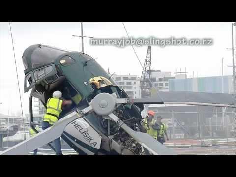 Accident de elicopter - Original HD footage