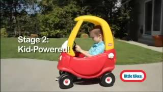 getlinkyoutube.com-Little Tikes 30th Anniversary Cozy Coupe Car