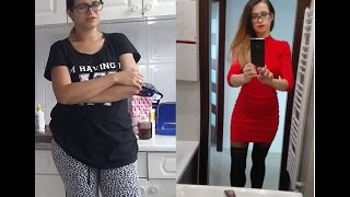 getlinkyoutube.com-Moja metamorfoza / Jak schudłam z Ewą Chodakowską/ fitness i siłownia/  [ Natalia K ]
