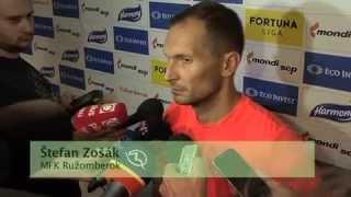 getlinkyoutube.com-7. kolo Fortuna ligy: MFK Ružomberok - MFK Zemplín Michalovce 2:2 (1:0)