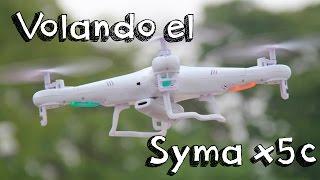 getlinkyoutube.com-SYMA X5C VUELO EN ESPAÑOL: Analisis del vuelo del mejor drone calidad precio barato