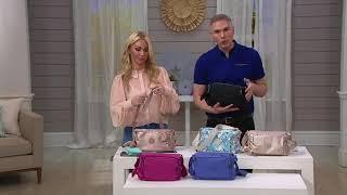 Kipling Adjustable Shoulder Bag - Reth on QVC