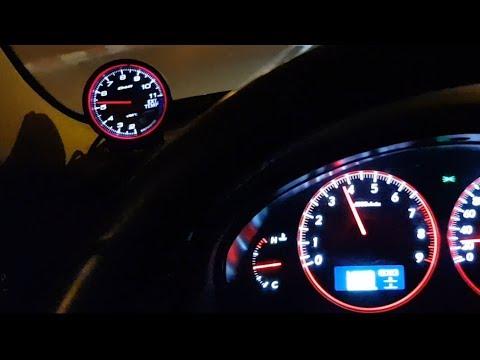 Установка датчика EGT - Defi Advance CR + Defi Advance Control Unit Installation on Subaru Legacy