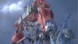 getlinkyoutube.com-TFP: Optimus Prime and Arcee : Arctic Adversity